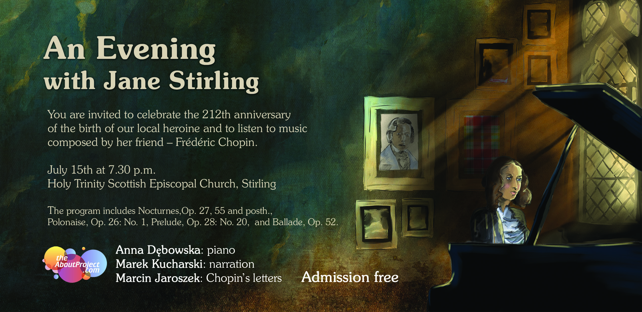 Classical Music Events in Stirling, Dunblane and the
